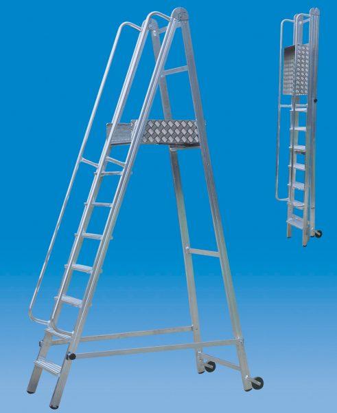 scale Appoggio in alluminio ART.210